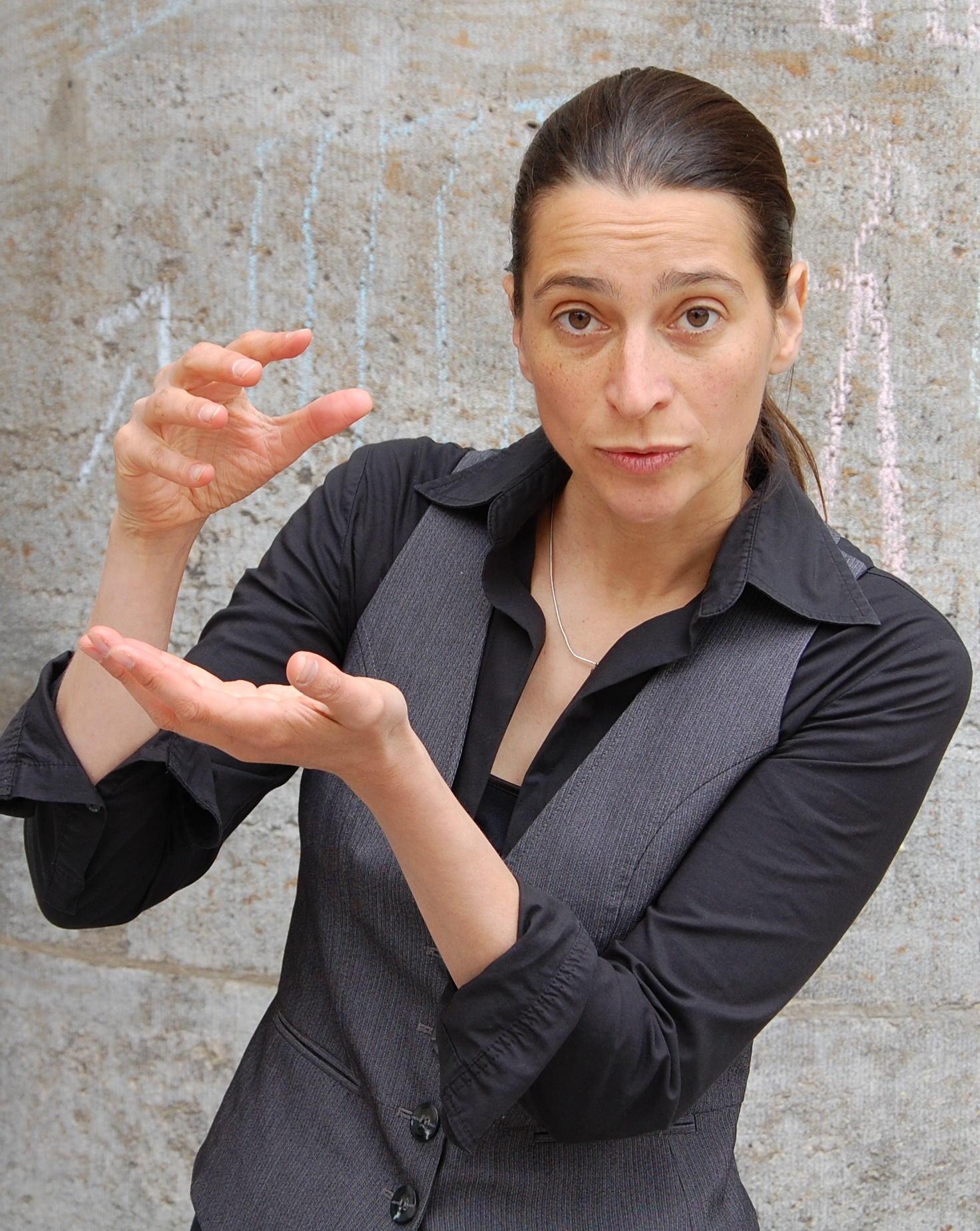 Trainerin Christine Lander